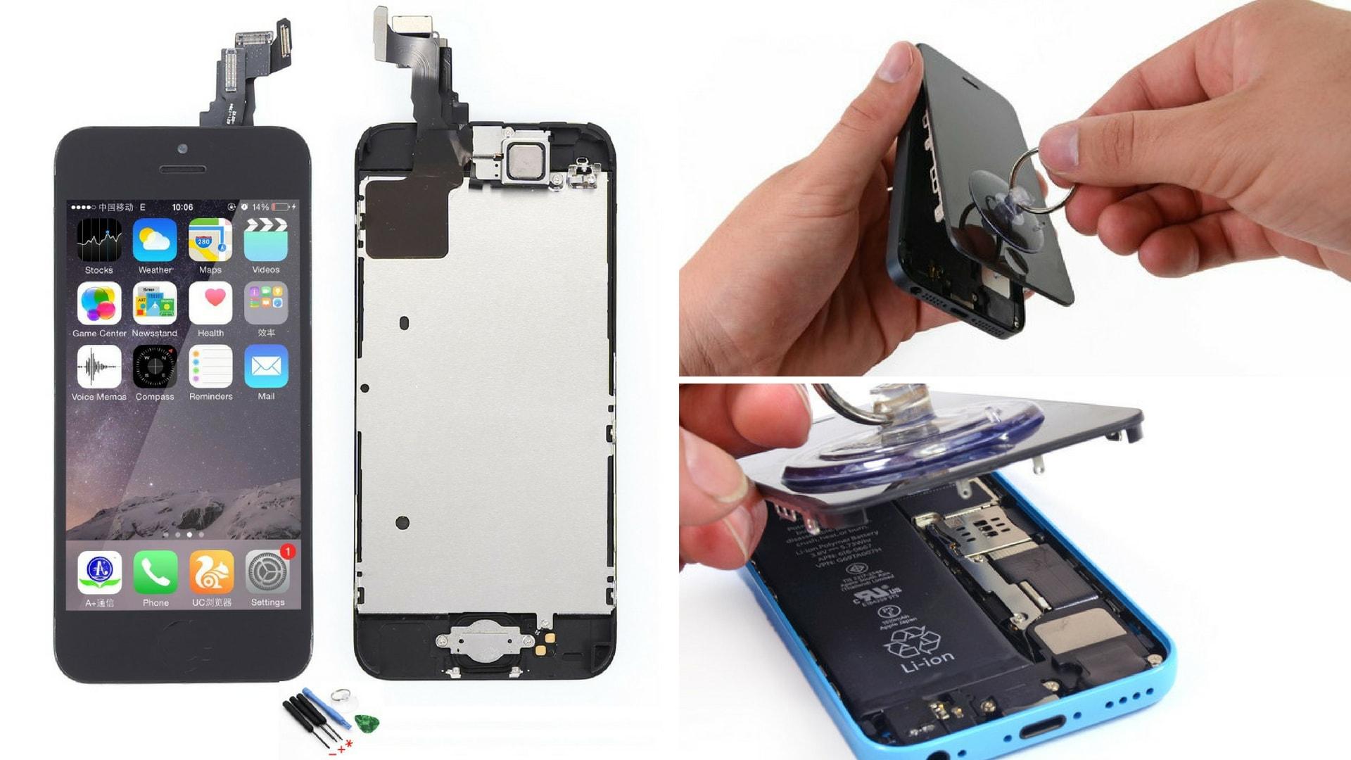 Remplacer la vitre et l'écran de son iPhone 5C